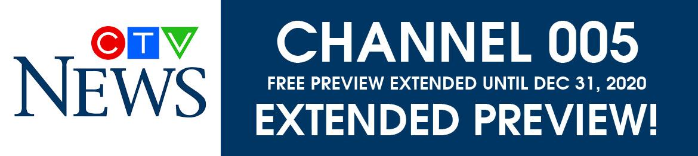CTV News Free Preview Until Dec 31, 2020
